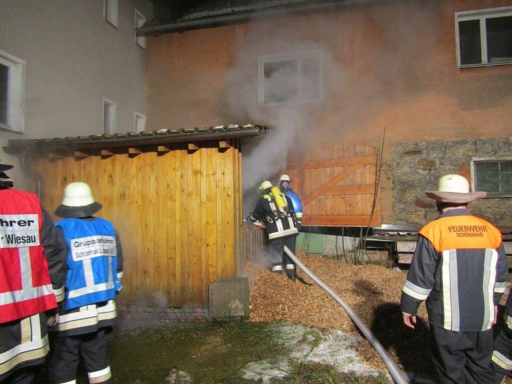 Brand am Gebäude (B3)