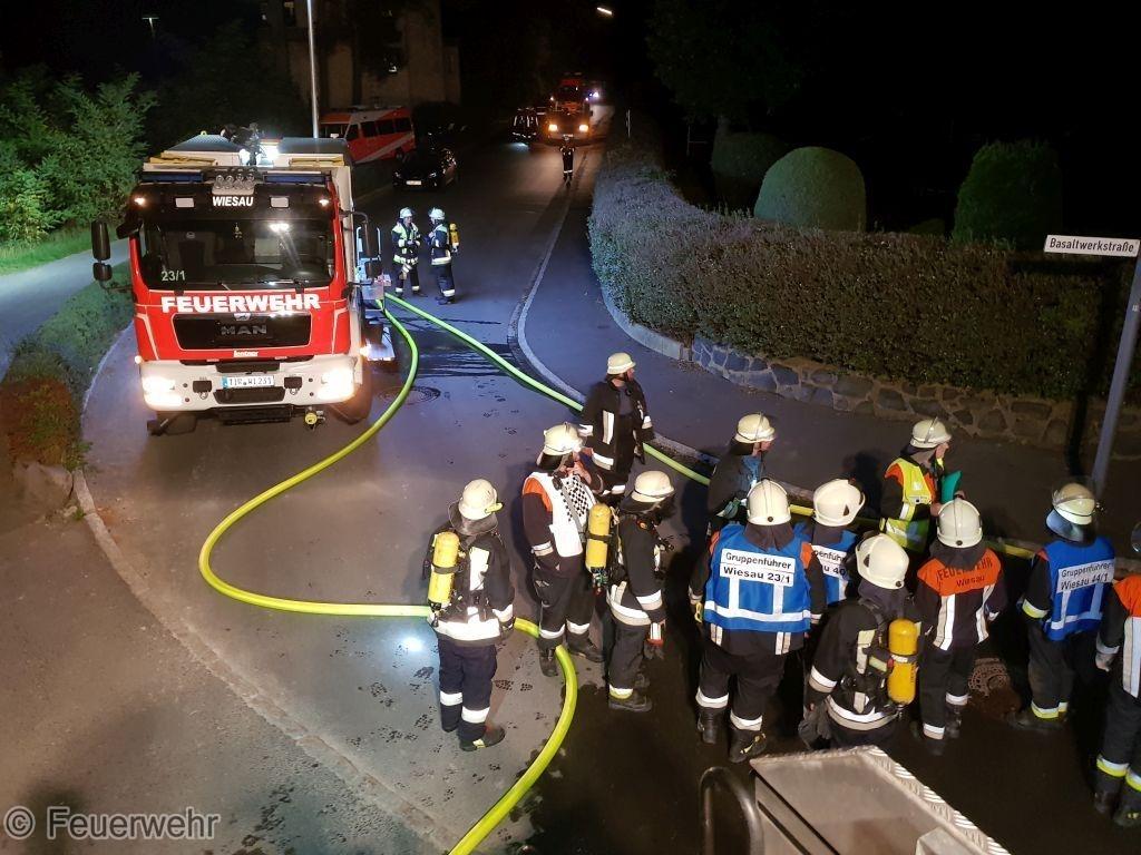 Gefahrstoff - Gasaustritt