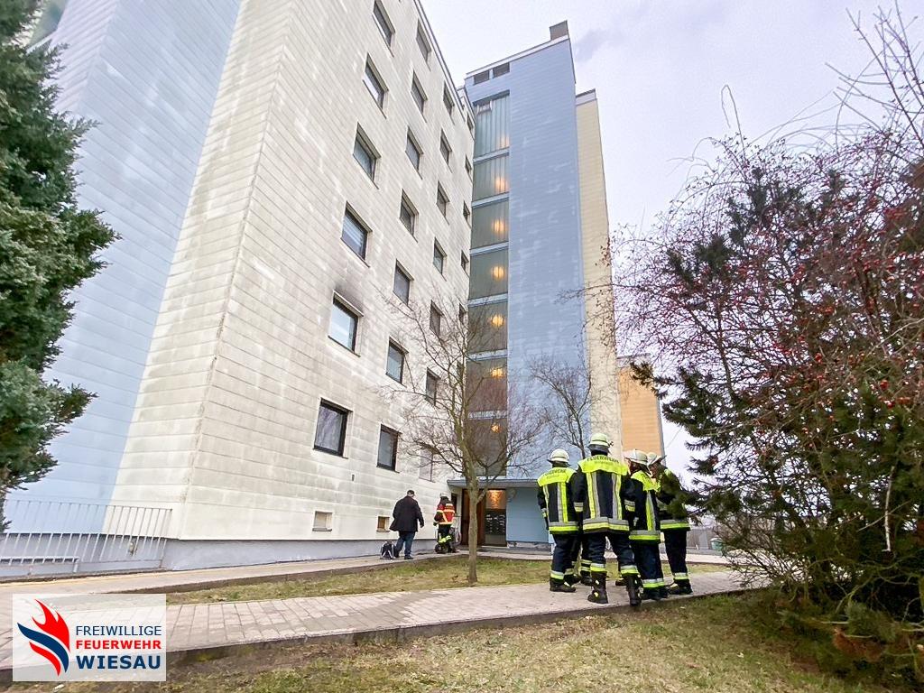 B4-UG-ÖEL Brand mehrstöckiges Gebäude