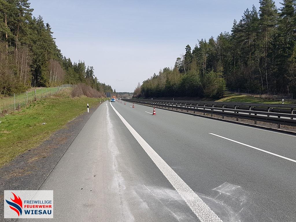Straße reinigen (A93)