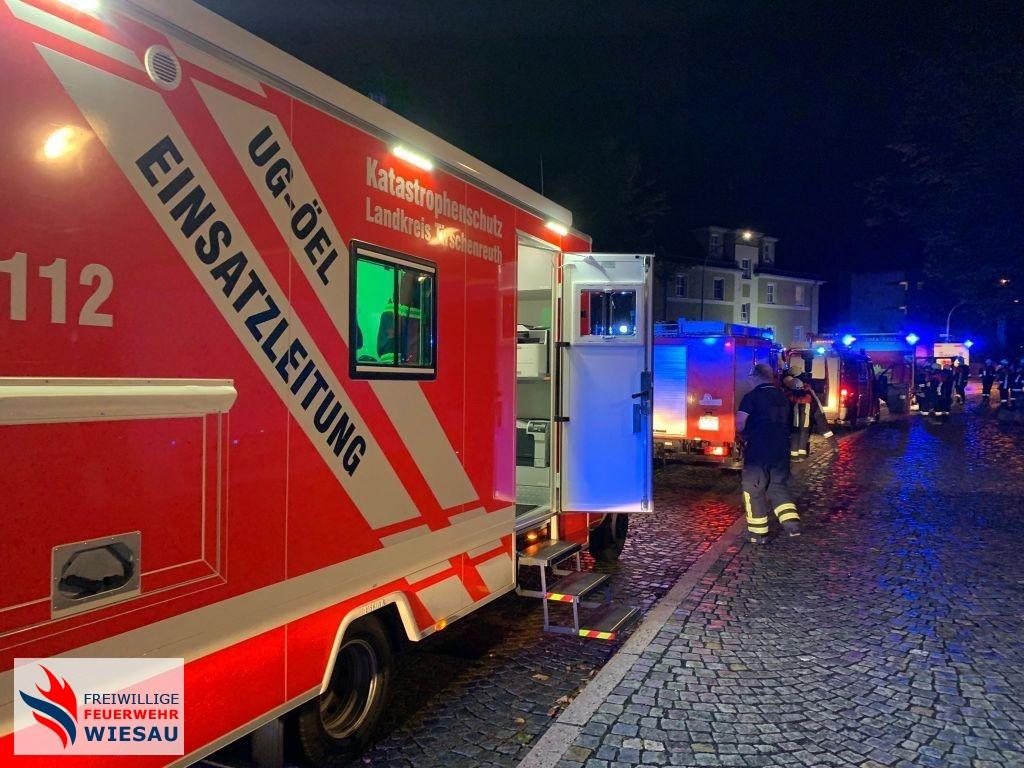 Brand Altenheim - Mehrere Personen in Gefahr (B 5)