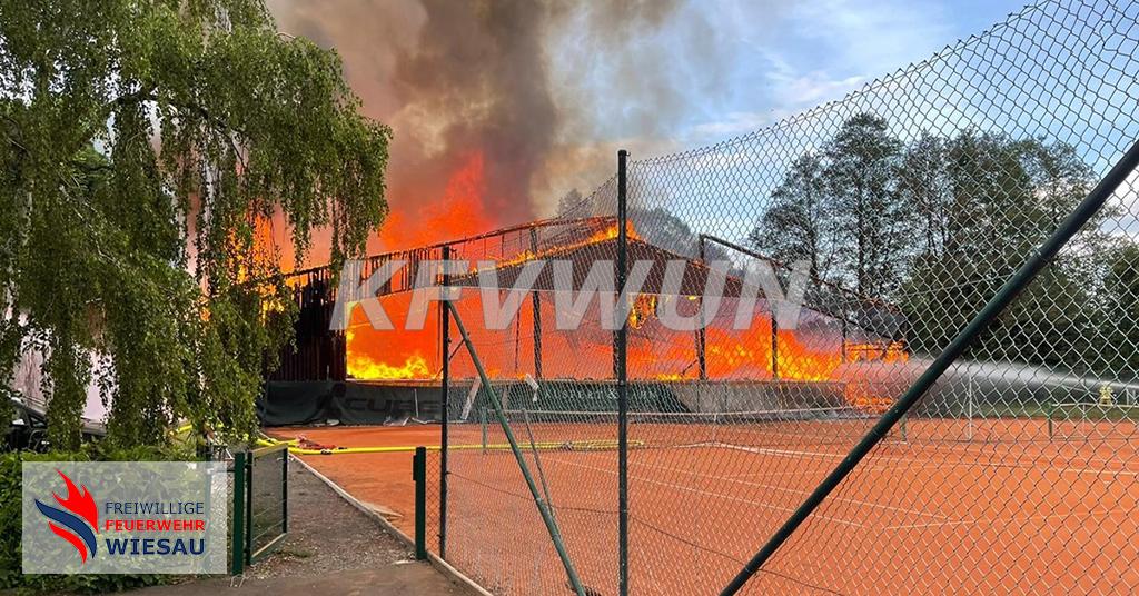 Brand Tennishalle (B4)